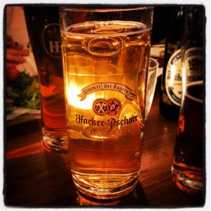 Hacker-Pschorr Gold at Bavaria Brauhaus
