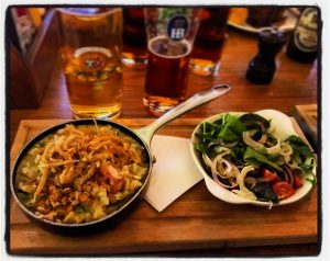 Käsespätzle at Bavaria Brauhaus Glasgow