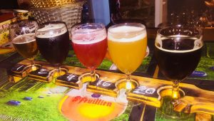 Beer tasting at La Trappiste Bruges