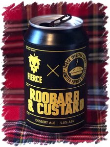 Fierce Beer Roobarb & Custard