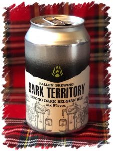 Fallen Brewing Dark Territory